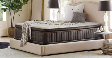 Berger & Strauss 15-Inch Luxury Hybrid Memory Foam Mattress with Breathable Memory Fiber Pockets