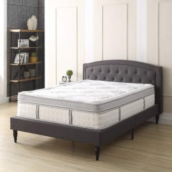 Classic Brands 14-Inch Gramercy Euro-Top Cool Gel Memory Foam and Innerspring Hybrid Mattress