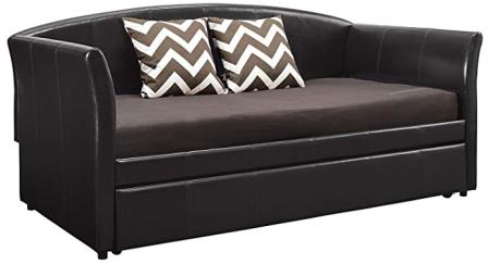 DHP Halle Upholstered Daybed