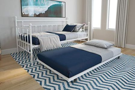 DHP Manila Metal Daybed and Trundle