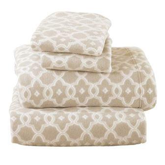 Dara Collection Super Soft Extra Plush Polar Fleece Sheet Set from Home Fashion Designs