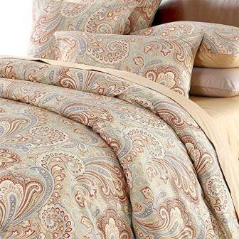 Duvet Cover Set Paisley Bedding Design