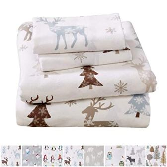 Home Fashion Designs Stratton Collection Extra Soft Flannel Sheet