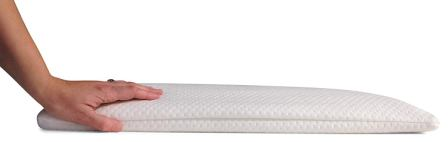 Home Luxury Living 2.5 Inch Ultra Thin Memory Foam Pillow