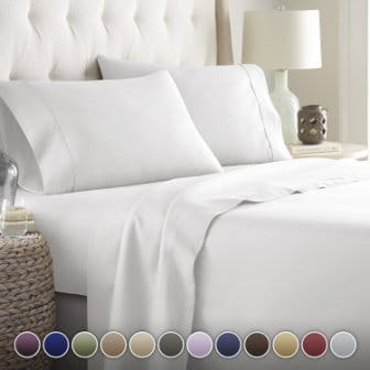 Hotel Luxury Bed Sheets Set 1800 Series Platinum Collection
