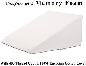 InteVision Extra Large Foam Bed Wedge Pillow