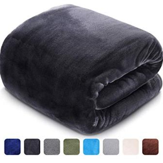 LEISURE TOWN Soft Blanket Queen-Size All-Season Fleece Blanket