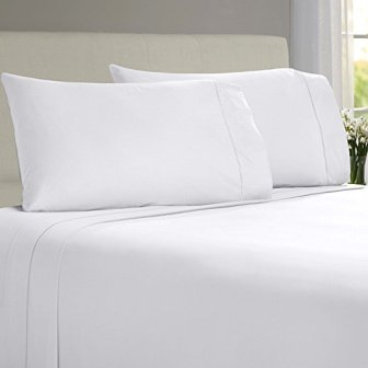 LINENWALAS Bamboo Twin Bed Sheets Set