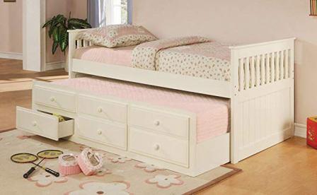 La Salle Twin Captain's Bed