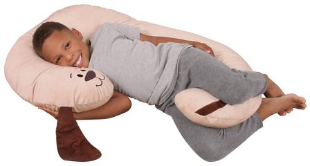 Luxuriously Soft Plush Puppy with Zippered Removable Cover – Leachco Snoogle Jr.