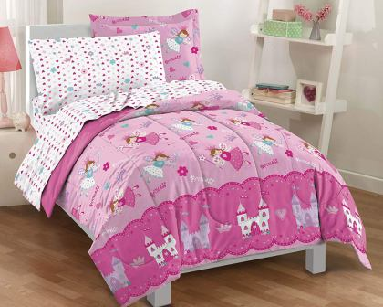 Magical Princess Ultra Soft Microfiber Girls Comforter Set from Dream Factory