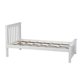 Max & Lily Solid Wood Twin-Size Bed