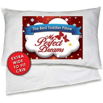 My Perfect Dreams Toddler Pillow