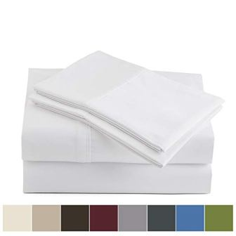 Peru Pima 600 Thread Count Pima Cotton Bed Sheet Set