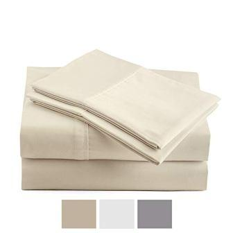 Peru Pima 600 Thread Count Pima Cotton Bed Sheets