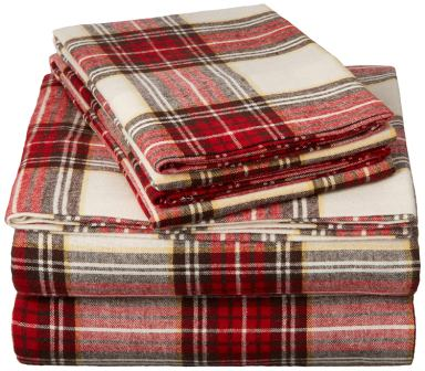 Pinzon Plaid Flannel Sheet