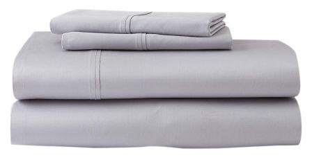 Queen Premium Supima Cotton and Tencel Luxury Soft Sheet Set from GhostBed
