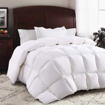 ROSECOSE Luxurious Goose Down Comforter King Size Duvet Insert