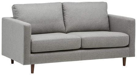 Rivet Revolve Modern Sofa Bed, 70″W, Grey Weave
