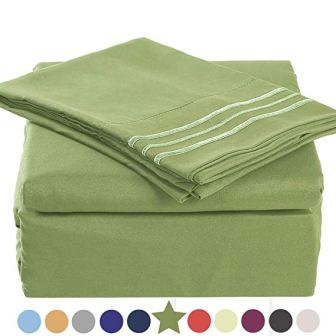 Tekamon Premium 4 Piece Bed Sheet Set