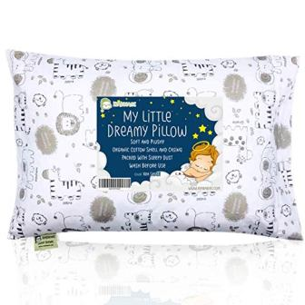 Toddler Pillow with Pillowcase – KeaBabies