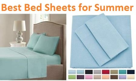Top 15 Best Bed Sheets for Summer in 2019