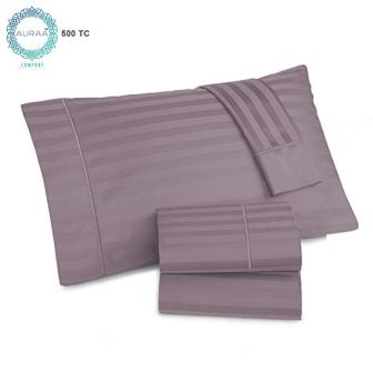 Auraa 500 Thread Count Supima Cotton Sheet Set