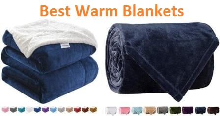 Top 15 Best Warm Blankets in 2019