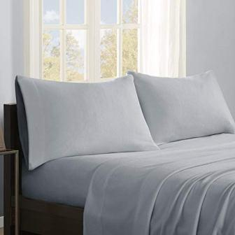 True North Micro Fleece Queen Bed Sheets Set from Sleep Philosophy, Casual Ultra Soft Bed Sheets Queen