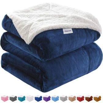 kawahome Sherpa Luxurious Winter Blanket