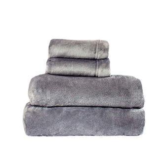 "ysleep-20""]4. Comfort Collection Velvet Plush Sheet Set, Queen, Gray, 1 Sheet Set from Cozy Fleece"