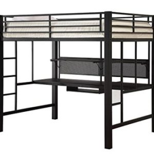 AVALON FULL WORKSTATION LOFT BED