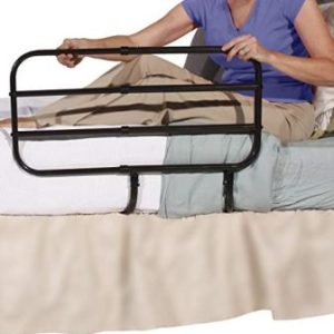 Able Life Bedside Extend-A-Rail – Adjustable Adult Home Safety Bed Rail