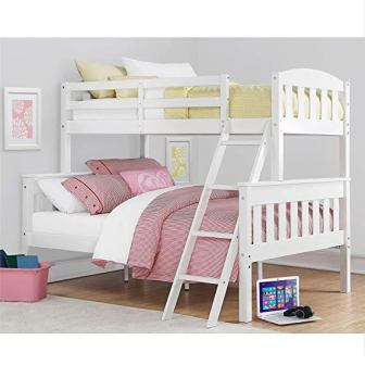 Airlie Solid Wood Bunk Beds Twin Over Full from Dorel Living