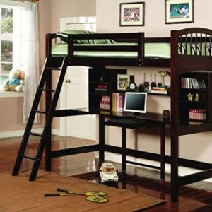 COASTER HOME FURNISHINGS PERRIS TWIN LOFT BED