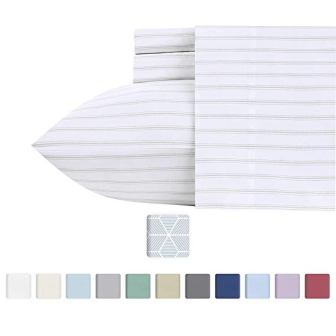 California Design Den 600 Thread Count Best Bed Sheets 100% Cotton Sheets Set