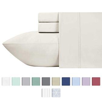 California Design Den 600-thread-count, 100% Cotton Sheets