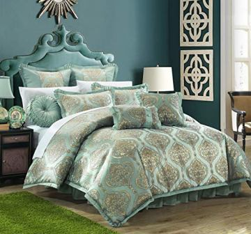Chic Home 9 Piece Como Decorator Comforter Set