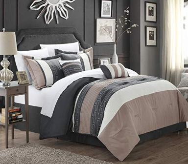 Chic Home Carlton 6 Piece King Comforter Set