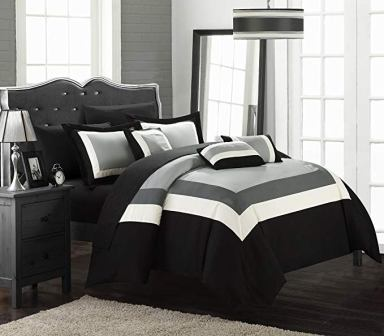 Chic Home Duke 10 Piece King Size Comforter Set