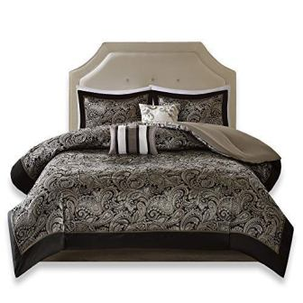 Comfort Spaces Charlize 5 Piece King Size Comforter Set
