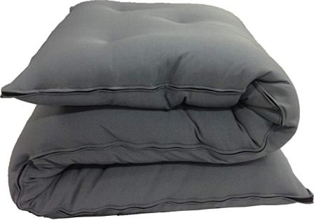 D&D Futon Furniture Brand New Queen Size Gray