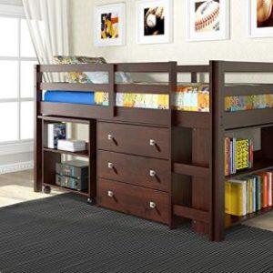 DONCO LOW STUDY LOFT BED