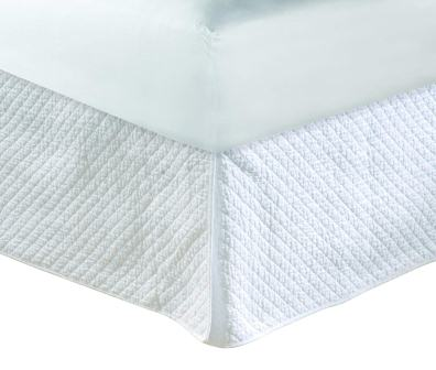Diamond Quilted Bed Skirt – Greenland Home