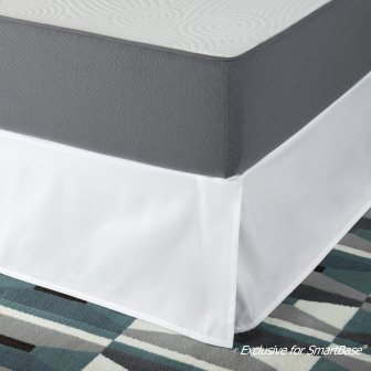 Easy 16 Inch SmartBase Mattress Foundation Bed Skirt – Zinus