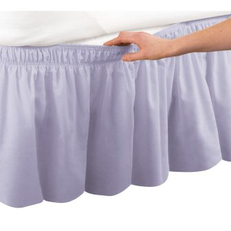 Easy Fit Dust Ruffle Bedskirt – Collections Etc