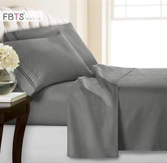 FBTS Basic 1800 TC Hotel Luxury Fitted Sheets Set