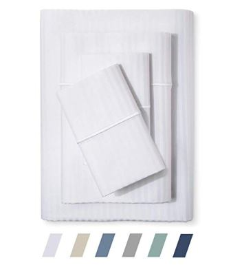 Feather Stitch 500 Thread Count 100% Cotton Sheet Set