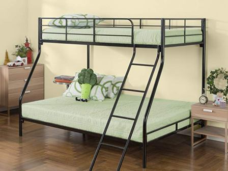 Hani Easy Assembly Quick Lock Metal Bunk Bed from Zinus