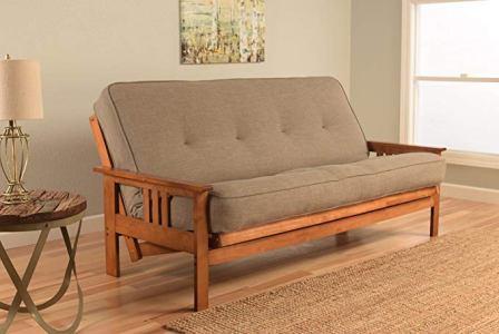 Kodiak Furniture Monterey Futon Set with Barbados Finish